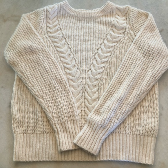 Abercrombie & Fitch Cotton Blend Knit Sweater